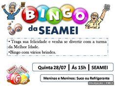 CIDADE: Bingo recreativo para idosos da Melhor Idade