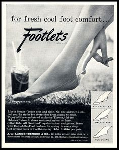 Footlets ~~ HAHA funny name!