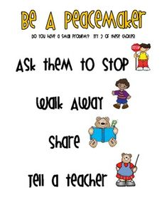 Teach your students to try to solve problems independently with this classroom sign.Simply Schoolteacherwww.simplyschoolteacher.blogspot.comClipart: DJ Inkers
