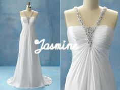 Jasmine wedding dress. I love this sooo much it's not even funny.