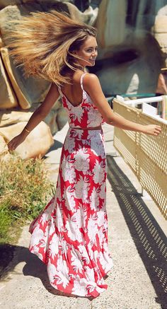 Maxi Floral Dress Summer Style