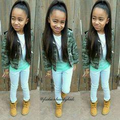 Little girl Timbs ❤️