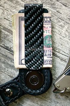 Custom Warlock Carbon Fiber Money Clip + Key Fob System In Black http://www.vvego.com/product/warlock-carbon-fiber-money-clip-key-fob-system/