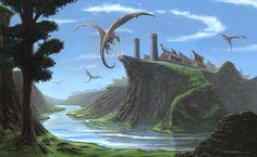 Dragonland by Blacktalons.deviantart.com on @deviantART