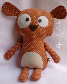37 Ideas sewing toys to sell kids Fabric Toys, Fabric Crafts, Sewing Crafts, Sewing Projects, Stuffed Animal Patterns, Diy Stuffed Animals, Pillow Pals, Fabric Animals, Creation Couture