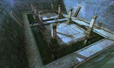 ArtStation - Spellforce 3 - Hybernian Temple, Raphael Lübke