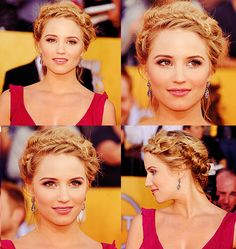 diana agron // love her hairstyle here