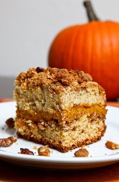 19. Pumpkin Coffee Cake   Community Post: 101 Pumpkin Recipes From Drinks To Dessert