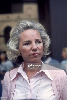 Ethel Kennedy circa 1979 in New York City.