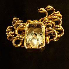 Medusa brooch, a Verdura and Salvadore Dali collaboration via Quintessenceblog.com
