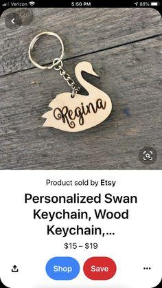 Wooden Keychain, Keychains, Personalized Items, Etsy, Key Hangers, Key Fobs, Porte Clef, Key Holders, Key Rings