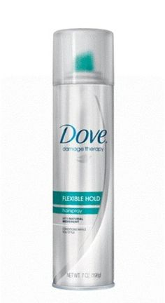 Dove Damage Therapy Aerosal Hair Spray, Flexible Hold, 7 Ounce (Pack of 3)