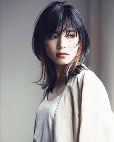 Pin on 髪型 Asian Short Hair, Asian Hair, Ulzzang Hair, Medium Hair Styles, Long Hair Styles, Mullet Hairstyle, Shot Hair Styles, Beautiful Haircuts, Heart Hair