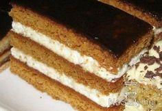 Zombori mézes Hungarian Desserts, Hungarian Recipes, Cake Recipes, Dessert Recipes, Tiramisu Cake, Winter Food, No Cook Meals, Sweet Tooth, Bakery