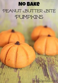 If you're looking for delicious pumpkin themed recipes & ideas this Fall and Halloween, you have to try these homemade NO BAKE peanut butter pumpkin bites! Easy Halloween Food, Halloween Treats, Halloween Cookies, Happy Halloween, Best Pumpkin, Pumpkin Spice, Fall Recipes, Holiday Recipes, Simple Recipes