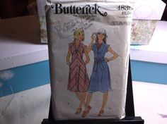 70s Style Vintage Sewing Pattern Dress & by MrsPsSewingEmporium