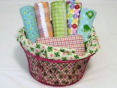 MyFrugalBabyTips.com: Diaper Sewing: Free Diapers - Too many receiving blankets? Make a couple dozen of them into great prefold diapers. Even with a high-needs baby, I was able to make at least one of these diapers per day. Photo credit:  sewwithjan - from Flickr