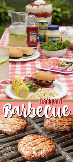 Backyard Barbecue: tips, tricks and recipes for summer - Host the best Backyard Barbecue of the summer with these simple grilling tips, recipe ideas and dec - Roast Recipes, Barbecue Recipes, Grilling Tips, Grilling Recipes, Bbq Pitmasters, Family Bbq, Grilled Fruit, Smoker Cooking, Delicious Dinner Recipes