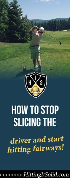 If you want to know how to stop slicing the driver you need to have the right information. Learn the key moves to stop slicing your driver and hit more fairways today. Driving Practice, Golf Practice, Golf Slice, Golf Putting Tips, Golf Chipping, Golf Drivers, Driving Tips, Golf Instruction, Perfect Golf