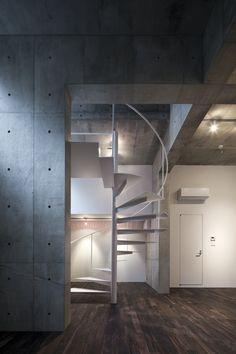 Staircase Design By Architects Komada Yuka + Takeshi