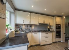 A light and airy kitchen we have installed recently in Cheshire
