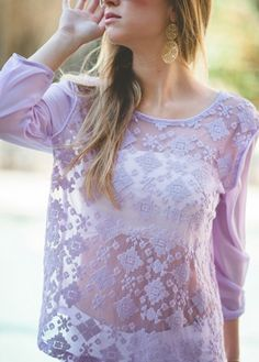 Meshin Around in Lilac Pastel Purple, Lilac, Periwinkle, Mauve, Lavender Green, Get Dressed, Hair Beauty, My Style, Lady