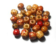 Wooden Beads Barrel Beads Natural beads Jewelry findings Bead supplies Diy Jewelry Round Colorful Beads Craft supplies by Neda Jewelry Findings, Diy Jewelry, Beaded Jewelry, Unique Jewelry, Beading Supplies, Wood Colors, Wooden Beads, Bead Crafts, Barrel