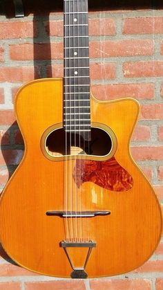 Vintage 1960's Louis Patenotte Gipsy Jazz Manouche Guitar Archtop Guitar, Acoustic Guitars, Gypsy Guitar, Gypsy Jazz, Mandolin, Vintage Guitars, Toot, Musicals, Music Instruments