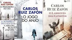 CARLOS RUIZ ZAFÓN (Colecção Cemitério dos Livros Esquecidos) - A Sombra do Vento - O Jogo do Anjo - O Prisioneiro do Céu - O Labirinto dos Espíritos (Editorial Planeta)(edição portuguesa)