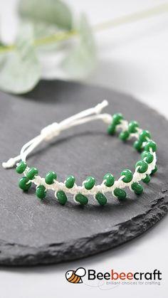 Diy Bracelets Patterns, Diy Bracelets Easy, Handmade Bracelets, Diy Crafts Jewelry, Bracelet Crafts, Diy Leather Bracelet, Diy Braids, Bracelet Tutorial, Ideas