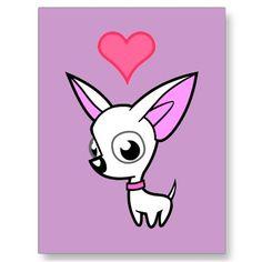 I love chihuahua♥
