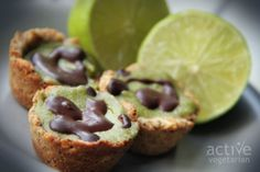 Lime mini cheesecakes #vegan #vegetarian #lime #poppyseed #cheesecake #glutenfree #dessert #recipe