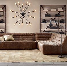 When we win the lottery a house with a basement will be our first purchase.  This sectional will be our second.  :)