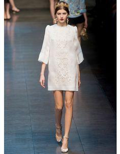 La silhouette baroque de Dolce & Gabbana - Robes de mariée : 30 silhouettes…