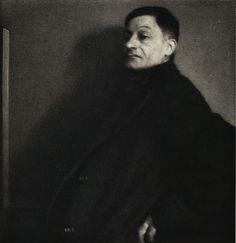 Edward Steichen, THE MAN THAT RESEMBLES ERASMUS, 1913