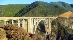Die Bixby Bridge bei
