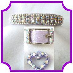 Lavender Lights Dog Collar