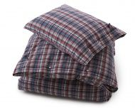 City Check Flannel Bedding
