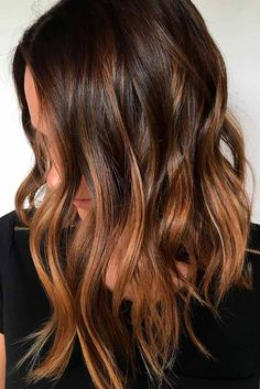 Highlights for Dark Brown Hair Color Tiger Eye: 15 Stunning New Ideas ★ See more: http://lovehairstyles.com/highlights-for-dark-brown-hair-tiger-eye/