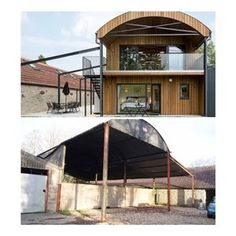 Hambush Holiday Let — Orme Architecture: Architecture for the environment - Somerset - South West - UK Barn Conversion Exterior, Barn House Conversion, Barn Conversions, Modern Barn House, Modern House Design, Metal Building Homes, Building A House, Green Building, Pavilion Architecture