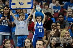 March 14, 2012  Fans at YUM center