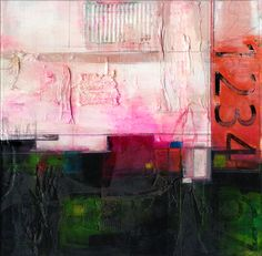 "Saatchi Online Artist: Kathy Morton Stanion; Mixed Media 2013 Painting ""Urban Passages"""