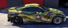 Nissan GTR nismo military camo