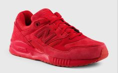 New Balance 530 Red Suede