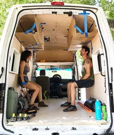 Outbound Living na u: Always test the sitting space before building! Sprinter Van Conversion, Camper Van Conversion Diy, Transit Camper, Ford Transit, Truck Camping, Van Camping, Motorhome, Camping Accesorios, Do It Yourself Camper