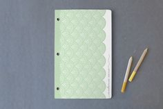 Modern Lacework Day Planner, Notebook, or Address Book by Laura Hankins at minted.com