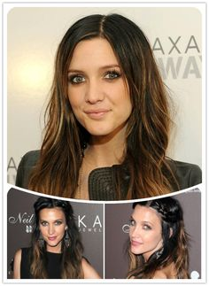 Stylish Stars Hairstyles & Black Ombre Hair Color︱Hair Trend for Summer 2013-ashely