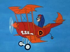 Hanna Barbera World: ENG - Dastardly and Muttley in their Flying Machines