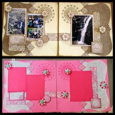 Designed by Cheryl Devlin but using updated products and different colours. Scrapbooking Layouts, Scrapbook Pages, Cheryl, Different Colors, Projects To Try, Barn, Paper Crafts, Colours, Frame