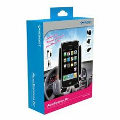 KONNET Auto Essential Kit - Six-in-One Pack for iPhone 4S, 4, 3Gs, 3G, iPhone and iPod Touch, Nano, Classic - 6 Pack - Retail Packaging (Black) - Special Promo by Konnet Technology. $9.99. KONNET is a registered trademark of KONNET Technology Inc. Complete Car Mounting Solution for your iPhone / iPod. Six-in-one Car Mount Kit for use with iPhone / iPod. Two different pedestals that let you mount your iPhone / iPod to the windshield, or air vents in your vehicle....
